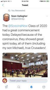 tweet about graduation