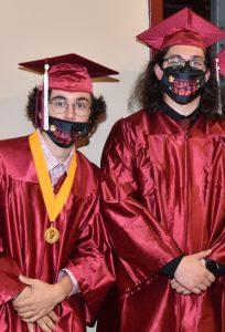 Two Scecina students graduating