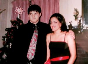 Boy and girl dressed for Turnabout Dance
